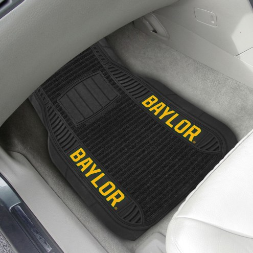 Baylor Bears Deluxe Car Floor Mat Set