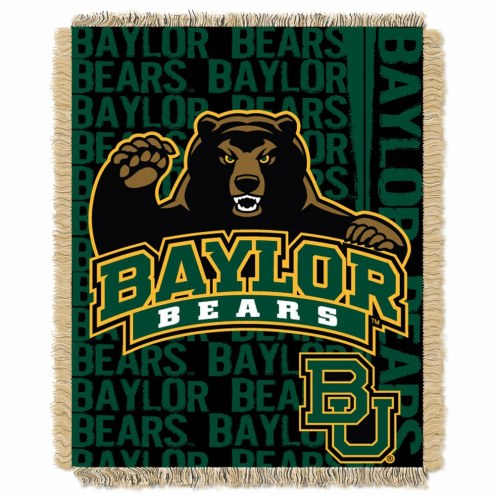 Baylor Bears Double Play Woven Throw Blanket