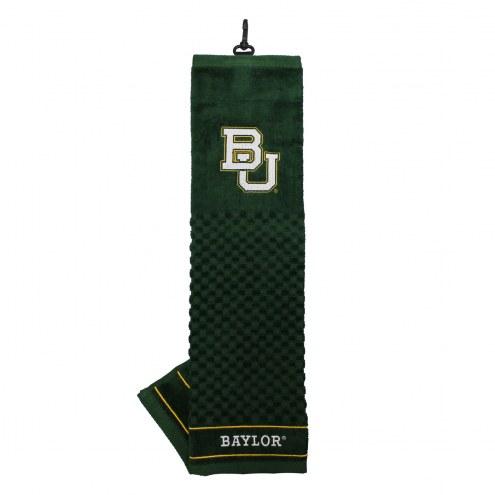 Baylor Bears Embroidered Golf Towel