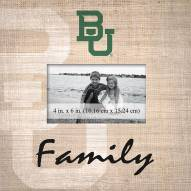 Baylor Bears Family Picture Frame