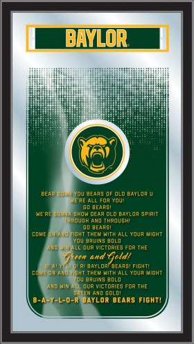 Baylor Bears Fight Song Mirror