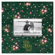 """Baylor Bears Floral 10"""" x 10"""" Picture Frame"""