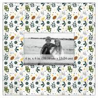 """Baylor Bears Floral Pattern 10"""" x 10"""" Picture Frame"""