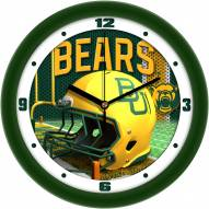 Baylor Bears Football Helmet Wall Clock