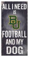 Baylor Bears Football & My Dog Sign