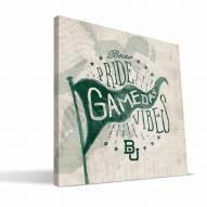 Baylor Bears Gameday Vibes Canvas Print