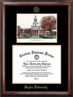 Baylor Bears Gold Embossed Diploma Frame with Lithograph