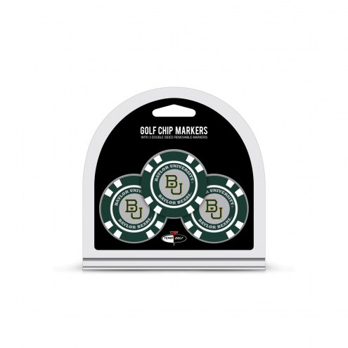 Baylor Bears Golf Chip Ball Markers