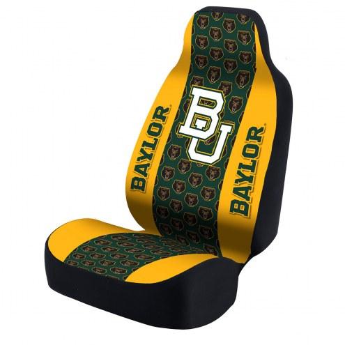 Baylor Bears Green/Yellow Bear Universal Bucket Car Seat Cover