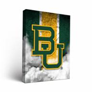 Baylor Bears Grunge Canvas Wall Art