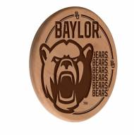 Baylor Bears Laser Engraved Wood Sign