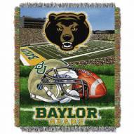 Baylor Bears Home Field Advantage Throw Blanket