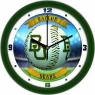 Baylor Bears Home Run Wall Clock