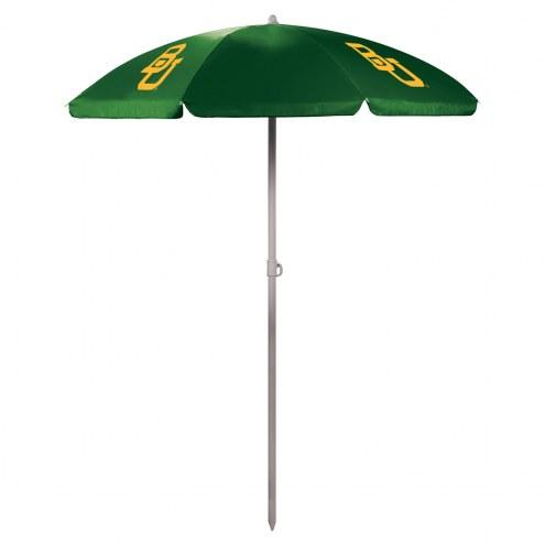 Baylor Bears Hunter Green Beach Umbrella
