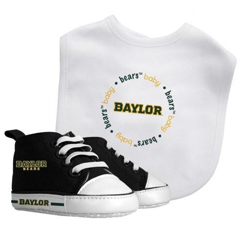 Baylor Bears Infant Bib & Shoes Gift Set