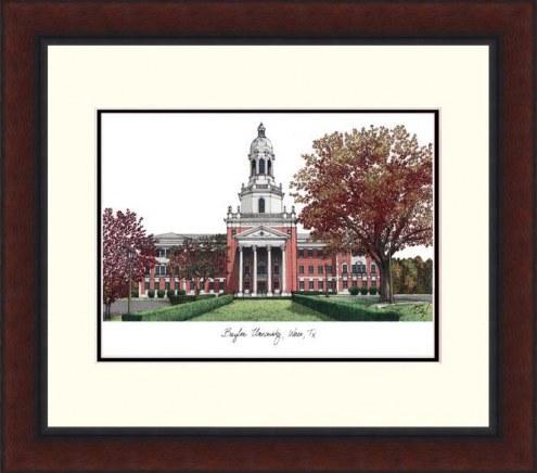 Baylor Bears Legacy Alumnus Framed Lithograph