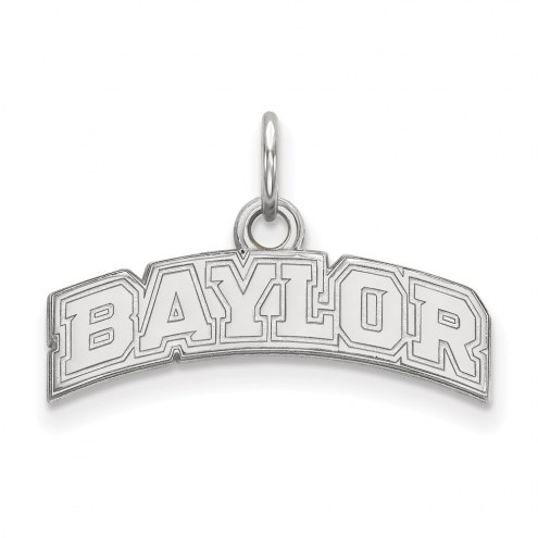 Baylor Bears NCAA Sterling Silver Extra Small Pendant