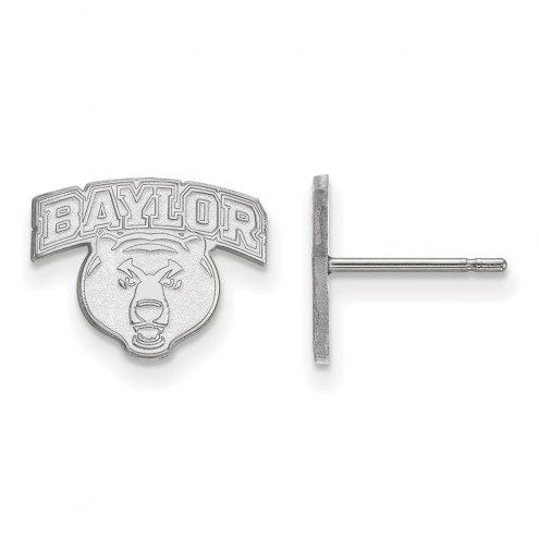 Baylor Bears NCAA Sterling Silver Extra Small Post Earrings