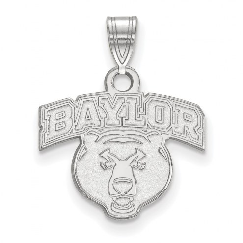 Baylor Bears NCAA Sterling Silver Small Pendant