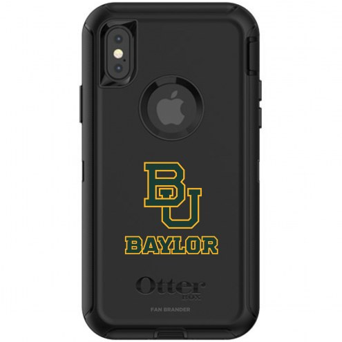 Baylor Bears OtterBox iPhone X/Xs Defender Black Case
