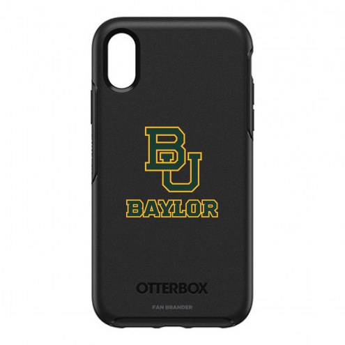 Baylor Bears OtterBox iPhone XR Symmetry Black Case