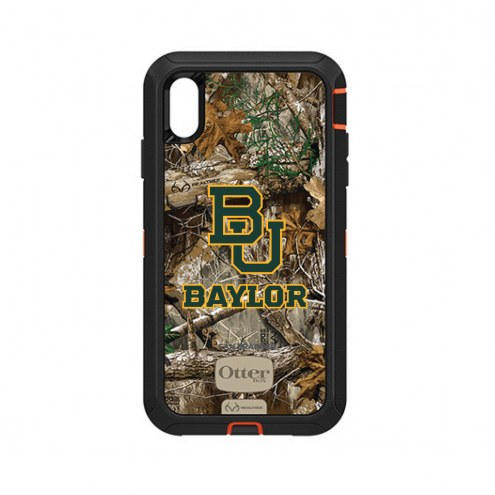 Baylor Bears OtterBox iPhone XS Max Defender Realtree Camo Case