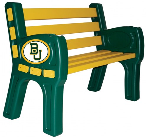 Baylor Bears Park Bench