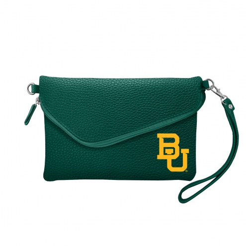 Baylor Bears Pebble Fold Over Purse