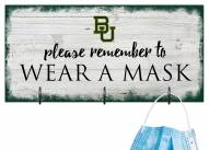 Baylor Bears Please Wear Your Mask Sign