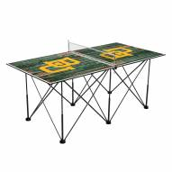 Baylor Bears Pop Up 6' Ping Pong Table
