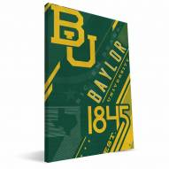 Baylor Bears Retro Canvas Print