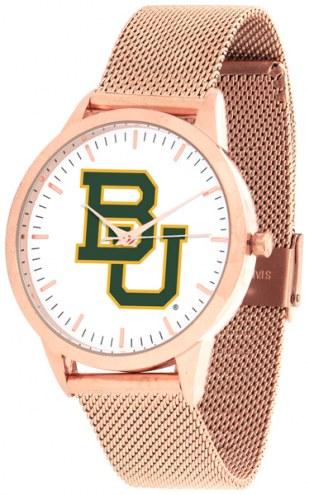 Baylor Bears Rose Mesh Statement Watch