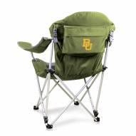 Baylor Bears Sage Reclining Camp Chair