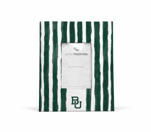 Baylor Bears School Stripes Picture Frame