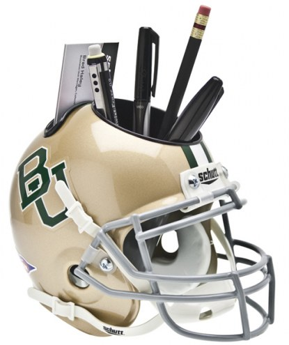 Baylor Bears Schutt Football Helmet Desk Caddy