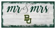Baylor Bears Script Mr. & Mrs. Sign