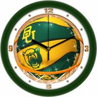 Baylor Bears Slam Dunk Wall Clock