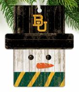 Baylor Bears Snowman Ornament