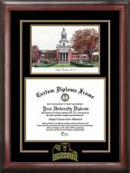 Baylor Bears Spirit Diploma Frame with Campus Image