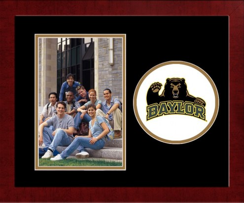 Baylor Bears Spirit Vertical Photo Frame