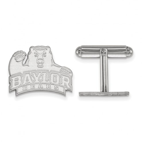 Baylor Bears Sterling Silver Cuff Links