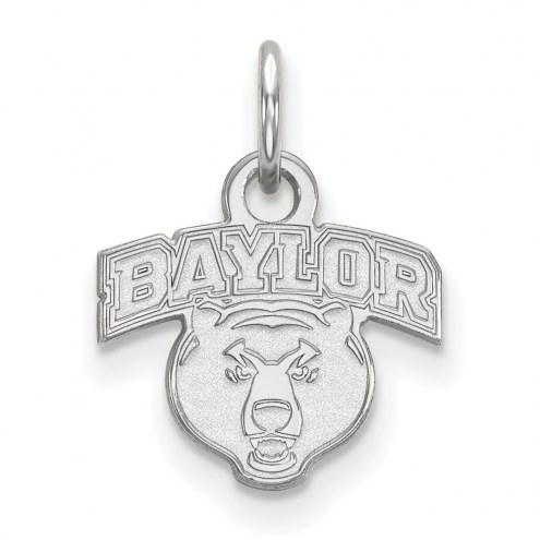 Baylor Bears Sterling Silver Extra Small Pendant