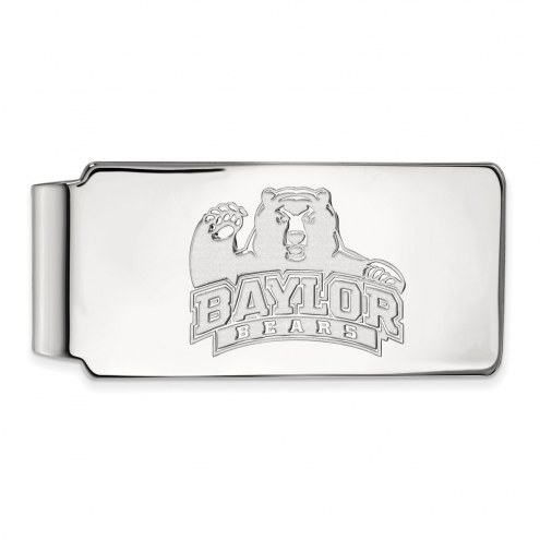 Baylor Bears Sterling Silver Money Clip