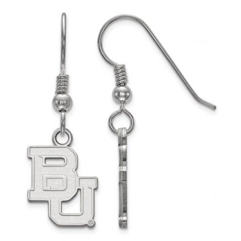Baylor Bears Sterling Silver Small Dangle Earrings