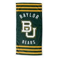Baylor Bears Stripes Beach Towel