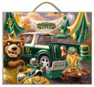 Baylor Bears Tailgate Plaque