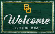 Baylor Bears Team Color Welcome Sign