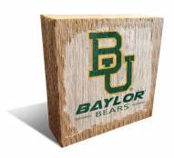 Baylor Bears Team Logo Block