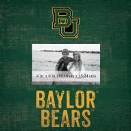 """Baylor Bears Team Name 10"""" x 10"""" Picture Frame"""