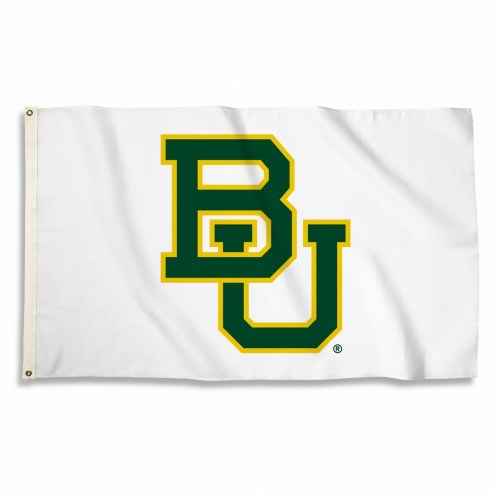Baylor Bears White 3' x 5' Flag